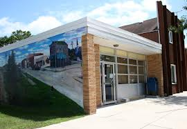 post office mural