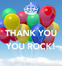 thank you  rock